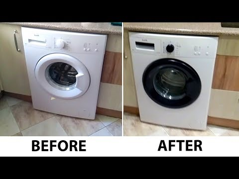 How To : Make Your Old Washing Machine Look Like a Brand New One !!
