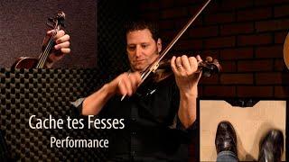 Cache tes Fesses - Québécois Fiddle Lesson by André Brunet