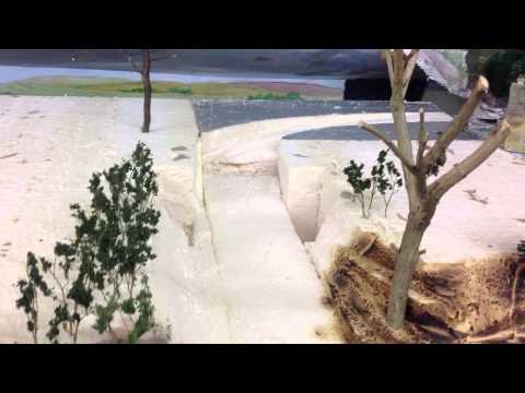 Arboretum Valley model railway layout IMG1665 talk through of re building Goathland