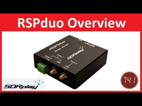 SDRplay RSPduo First Look and Basic Overview / Demo of SDRuno and Dump1090