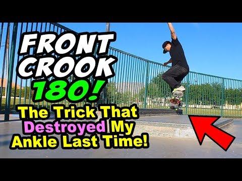 BACK FOR REVENGE! Front Crook 180?