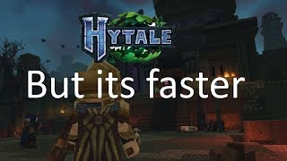 Hytale But Evrey 5 Seconds it gets 50% Faster