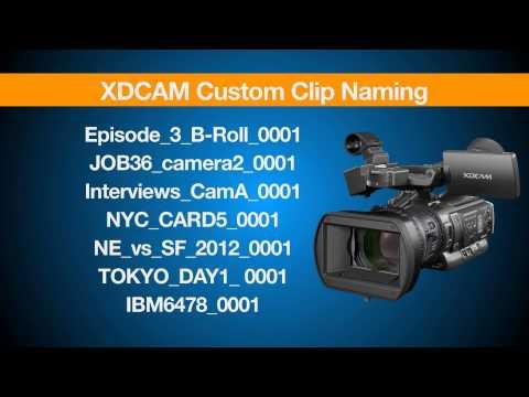 XDCAM Essentials Episode 3 - The Benefits of XDCAM Workflow Part 1