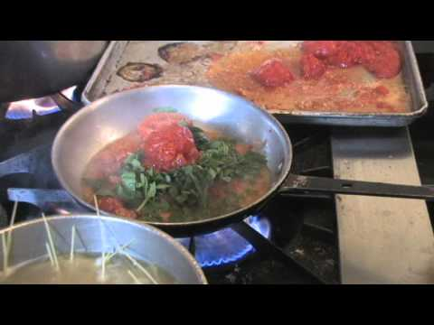 Pomodoro Sauce recipe made with fresh tomatoes and basil