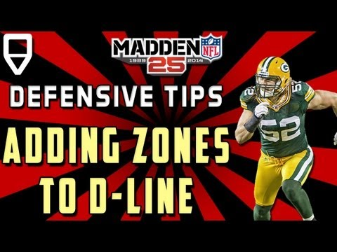 Madden 25 Tips from the Top - Use Defensive Ends in Coverage to Win Madden 25 Games