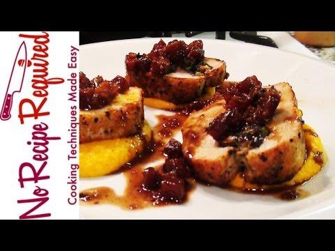 Stuffed Pork Tenderloin - Pork Recipes by NoRecipeRequired