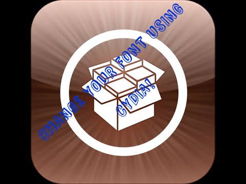 How to change Font on IPhone | IOS 7.1.2 | Cydia