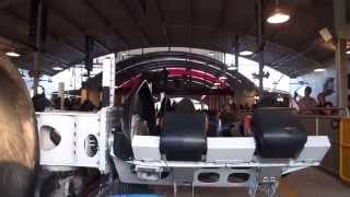 Download X2 Front Row POV Extreme Roller Coaster Six Flags Magic Mountain Video