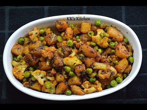 Aloo Gobi Matar Fry I Quick & Easy Veg Fry Recipe | Potato Cauliflower Fry | Aloo Gobi Fry in 10mins