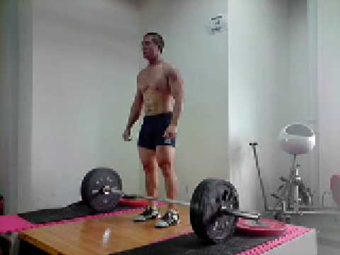 Power Clean 120kg x 2