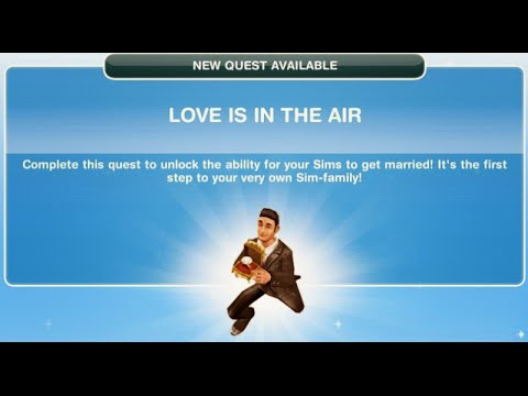 [The Sims Freeplay] - Love Is In The Air Görevi