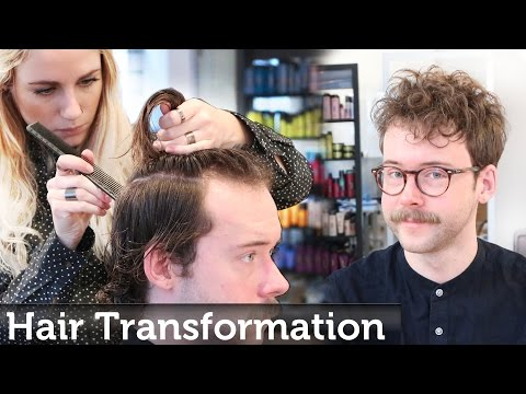 Men's Hair Transformation | Textured Top Hipster Style | By Slikhaar TV