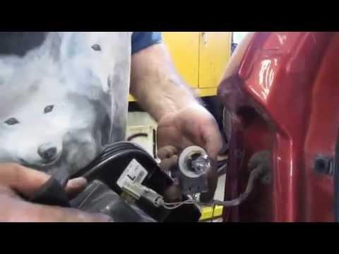 2008 Ford Edge Brake light bulb replacement