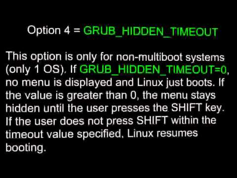 Configuring the GRUB 2 Boot Loader: Triple Boot Setup - Part 2