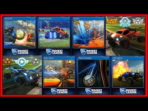 ROCKET LEAGUE Badge - The Cards, Rewards & Crafting | Holiday Sale 2015