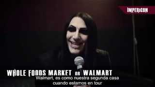 25 Questions with Motionless In White (Sub Español)