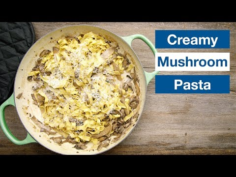 Creamy Mushroom Pasta || Le Gourmet TV Recipes
