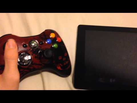 How To Connect An XBOX 360 Controller To An iPad