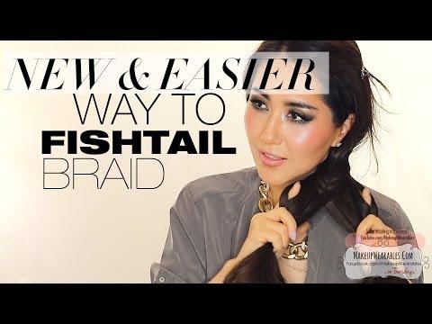 ★ FISHTAIL BRAID Hack | BRAIDED HAIRSTYLES FOR SCHOOL MEDIUM LONG HAIR