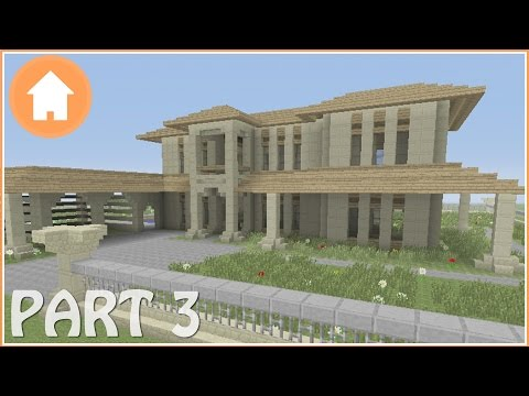 Minecraft Tutorial: How to Build a Mansion in Minecraft #3