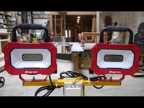 LED vs Halogen - Shoplight Evolution