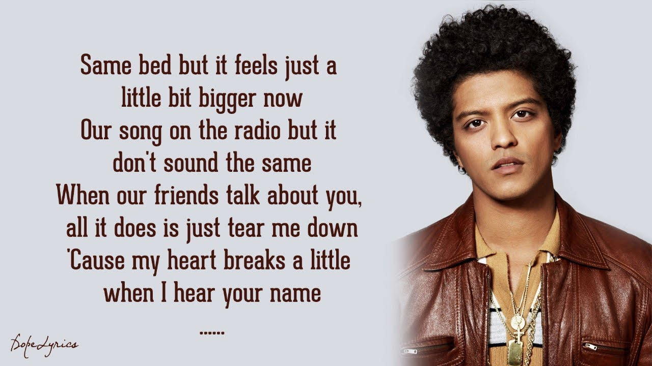 """When I Was Your Man - Bruno Mars """""""