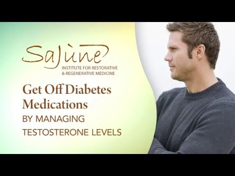 Get Off Diabetes Medications by Managing Testosterone Levels