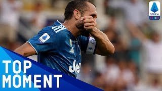 Chiellini scores first Serie A goal of the season | Parma 0-1 Juventus | Top Moment | Serie A