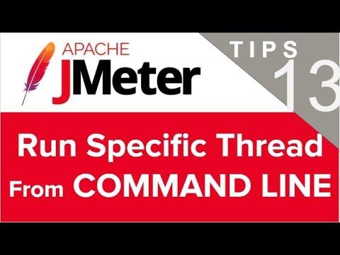 JMeter Beginner Tutorials | Tips n Tricks 13 💡 How to run specific thread from command line
