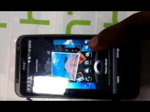 HTC lock screen