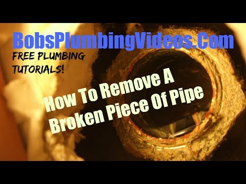 Broken Pipe - Small Diameter