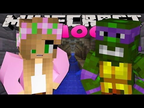 Minecraft School : LITTLE KELLY MEETS TEENAGE MUTANT NINJA TURTLES!