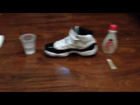 How to clean/remove scuffs from patent leather on Jordan 11s