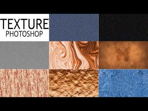 PHOTOSHOP Textures || how to create simply