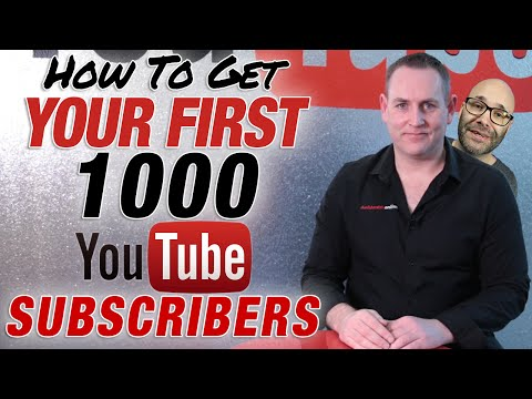 How To Get 1000 YouTube Subscribers 2016