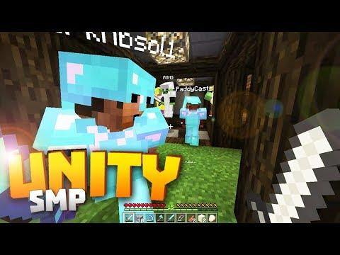 Minecraft Realms! - Unity SMP S2 Ep. 12 - SUPER DUPER COLLAB! w/ AGHQ, Paddy, Jojo & Dark!