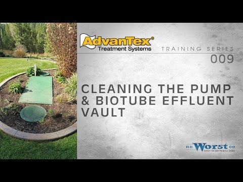 009 Cleaning the Pump, Floats, and Biotube Effluent Filter
