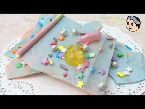 How To Make Kawaii Candy Chocolate Bark