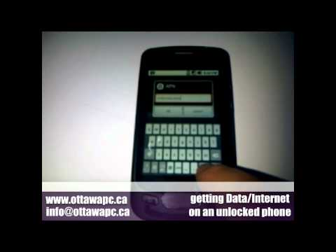 How to Fix Internet on Unlocked cell phones APN - Data doesnt work - Free Instructions