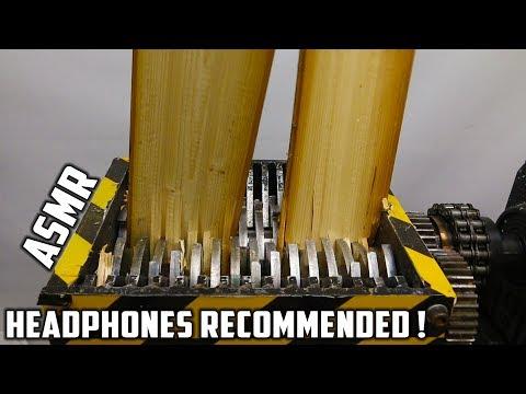 Shredding Wooden Planks | Satisfying Sounds !