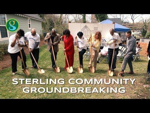 Sterling Neighborhood Groundbreaking
