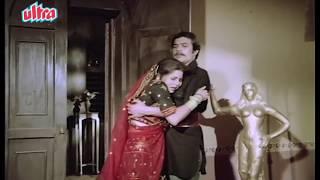 Rajesh Khanna Kissing Sulakshana Pandit - Goraa  Scene