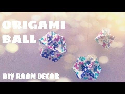 Origami Ball Ornament - Origami Easy