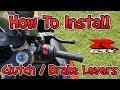How To Install Clutch & Brake Levers (2006 - 2010 Suzuki GSXR)