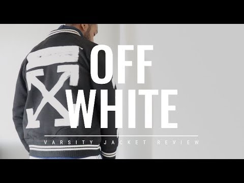 MY FIRST THOUGHTS ON OFF-WHITE VARSITY JACKET | Full Review