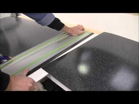 Plastic laminate seam cutting.wmv