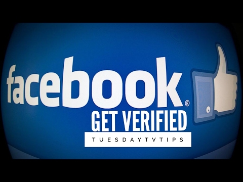 FACEBOOK: Get Verified