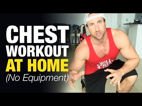 Chest Workout At Home For Men (Build Mass Without Equipment)