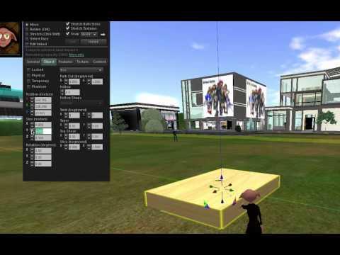Second Life: Build a Slideshow
