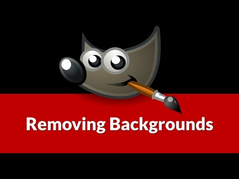 Removing White Backgrounds From Photos With GIMP